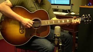 Gibson SJ-200 Studio Acoustic Guitar Demo