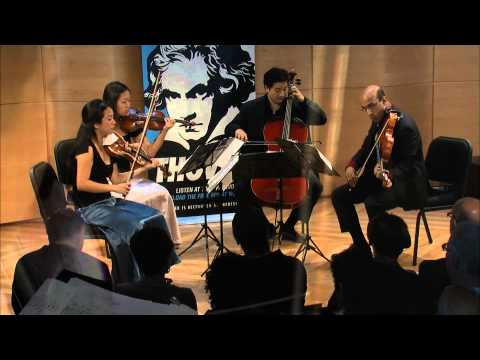 Beethoven String Quartet No 14 in Csharp minor,  Op 131  Afiara Quartet