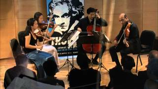 Beethoven String Quartet No. 14 in C-sharp minor,  Op. 131 - Afiara Quartet (Live)