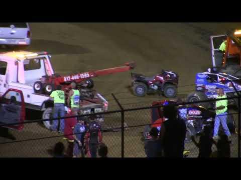 Sprint Car A Main Lincoln Park Speedway 8-4-18