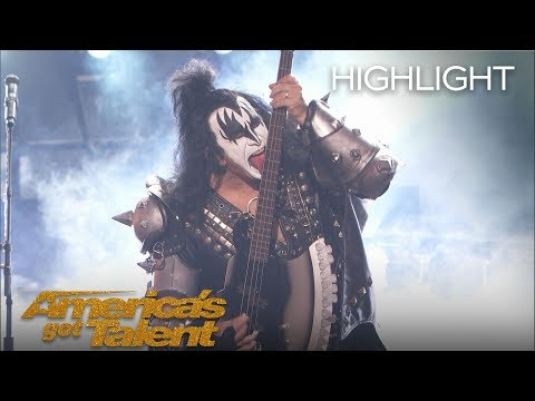 "KISS Performs ""Detroit Rock City"" on AGT - America's Got Talent 2018"