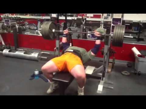 Bench Press 495 Lbs 225 Kg 5 Reps Very Fast. Dimitar Savati