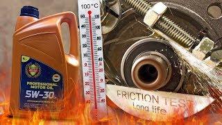 PMO 5W30 C4 Jak skutecznie olej chroni silnik? 100°C