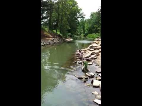 Atwood Lake spillway