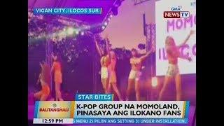 BT: K-Pop group na Momoland, pinasaya ang Ilokano fans