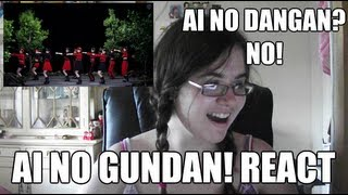 Ai no Dangan? NO! Ai no Gundan REACT