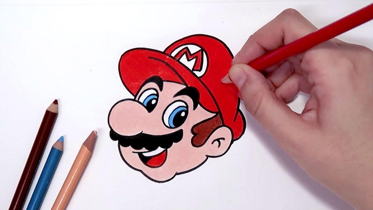 Como Desenhar O Super Mario Passo A Passo Youtube