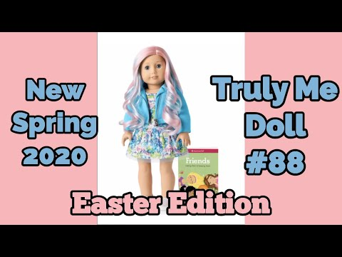 American Girl Truly Me Doll #88 - American Girl Melody's Easter Accessories - American Girl New 2020