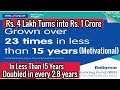 Mutual Funds | How Much Money Can You Make Using Mutual Funds ? Real Motivational