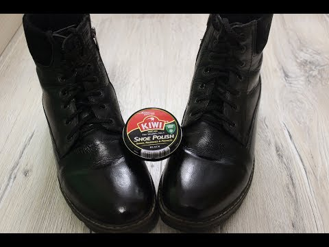 Как начистить обувь до блеска