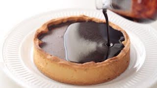 濃厚チョコレート・タルトの作り方 Rich Chocolate Tart - HidaMari Cooking