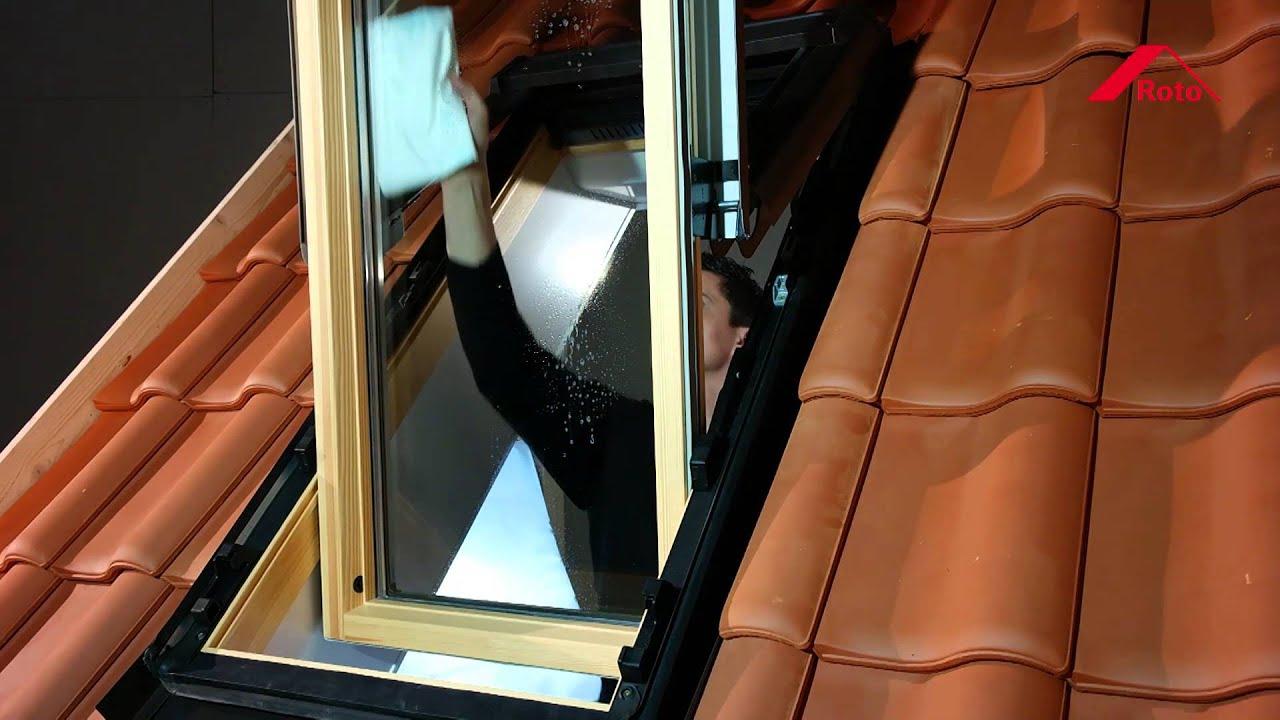 Sehr Roto Klapp-Schwingfenster WDF 84 ‒ Anleitung putzen - YouTube ZI77