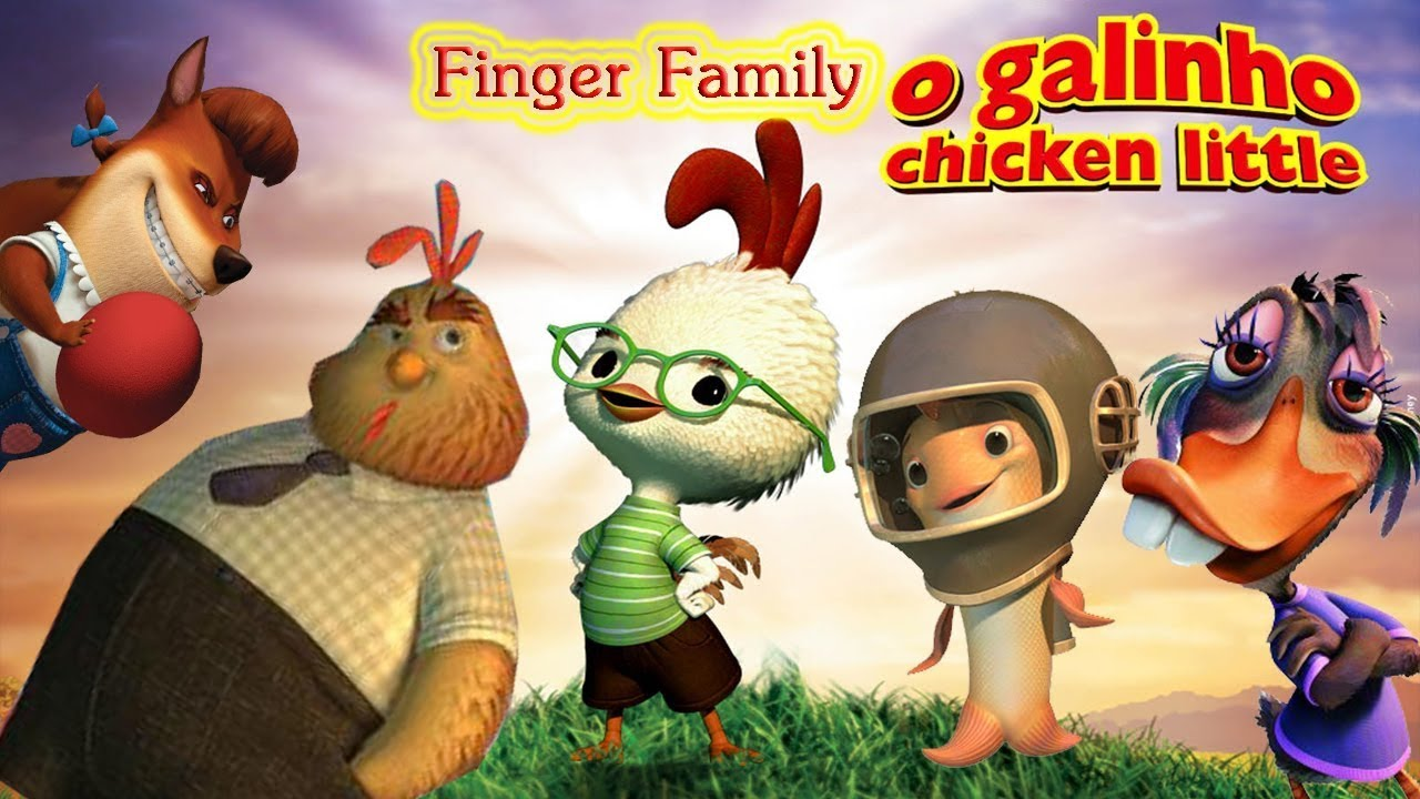Chicken Little Animation Movies For Kids - YouTube