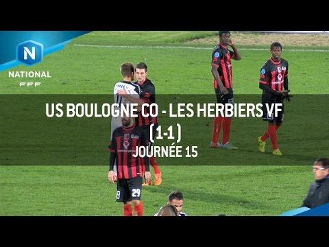 J15 : US Boulogne CO – Les Herbiers VF (1-1), le résumé
