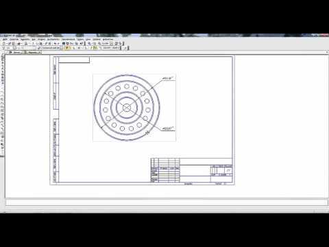 Как в компасе изменить масштаб чертежа