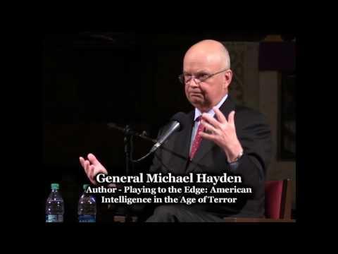 Gen. Michael Hayden in Conversation with Steve Scher
