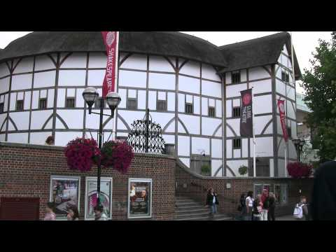 Shakespeare's Globe theatre London July 27 2011