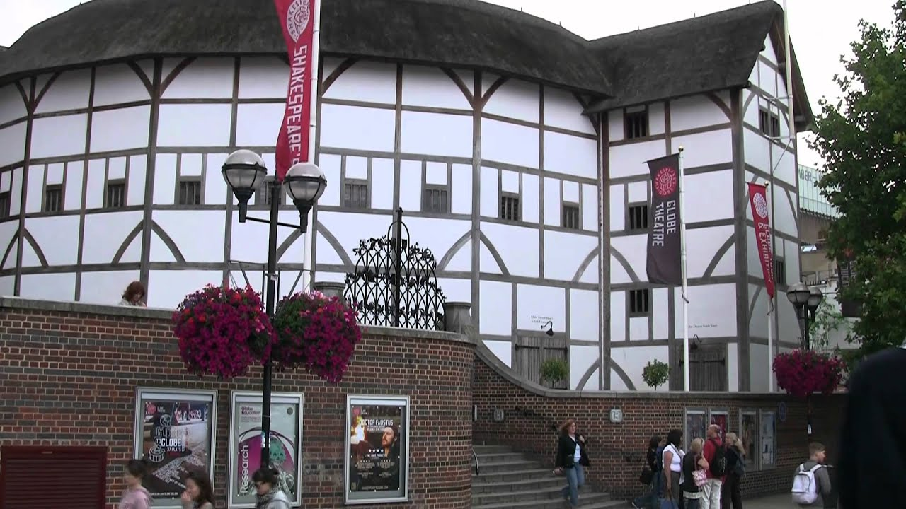 Shakespeare's Globe theatre London July 27 2011 - YouTube