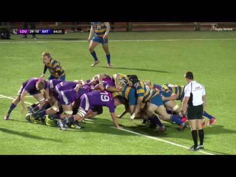 BUCS Super Rugby: Northumbria vs. Leeds Beckett FULL MATCH | Round 13, 10 Feb 2017