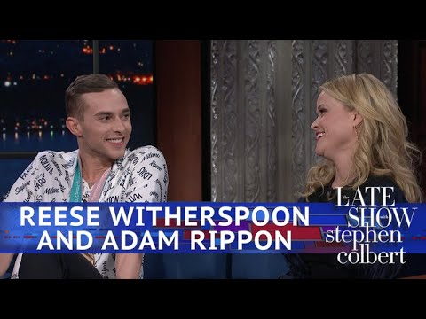 Reese Witherspoon Meets Her Olympic Hero Adam Rippon