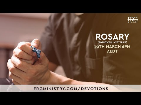 Rosary (Sorrowful Mysteries) with Fr. Rob Galea