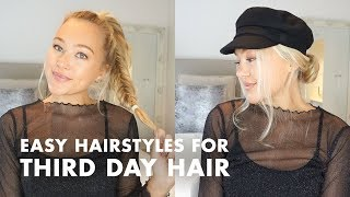 Greasy Hair? Try These Easy Hairstyles for Third Day Hair