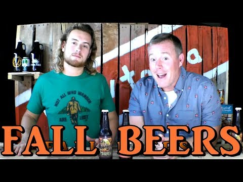 Dogfish Head Pumpkin Ale, Fordham Spiced Harvest Ale - Fall Beers - Brewtopia