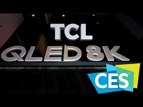 TCL 8 Series 8K Mini LED TV and more for the UK | CES 2019