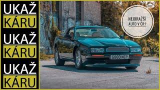 4K | NEJCENNĚJŠÍ AUTO V HISTORII POŘADU! | PRVNÍ VYROBENÝ ASTON MARTIN VIRAGE | FILIP TUREK | 243kW