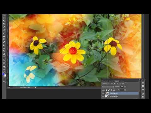 "Warm light effects   ""Flowers""    Photoshop CS6 HD thumbnail"