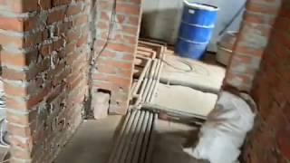 Монтаж Вентиляции кондиционирования отопления ч.1(Видеоотчет по монтажу систем вентиляции кондиционирования отопления и канализации в коттедже в Киевской..., 2015-09-23T08:24:06.000Z)
