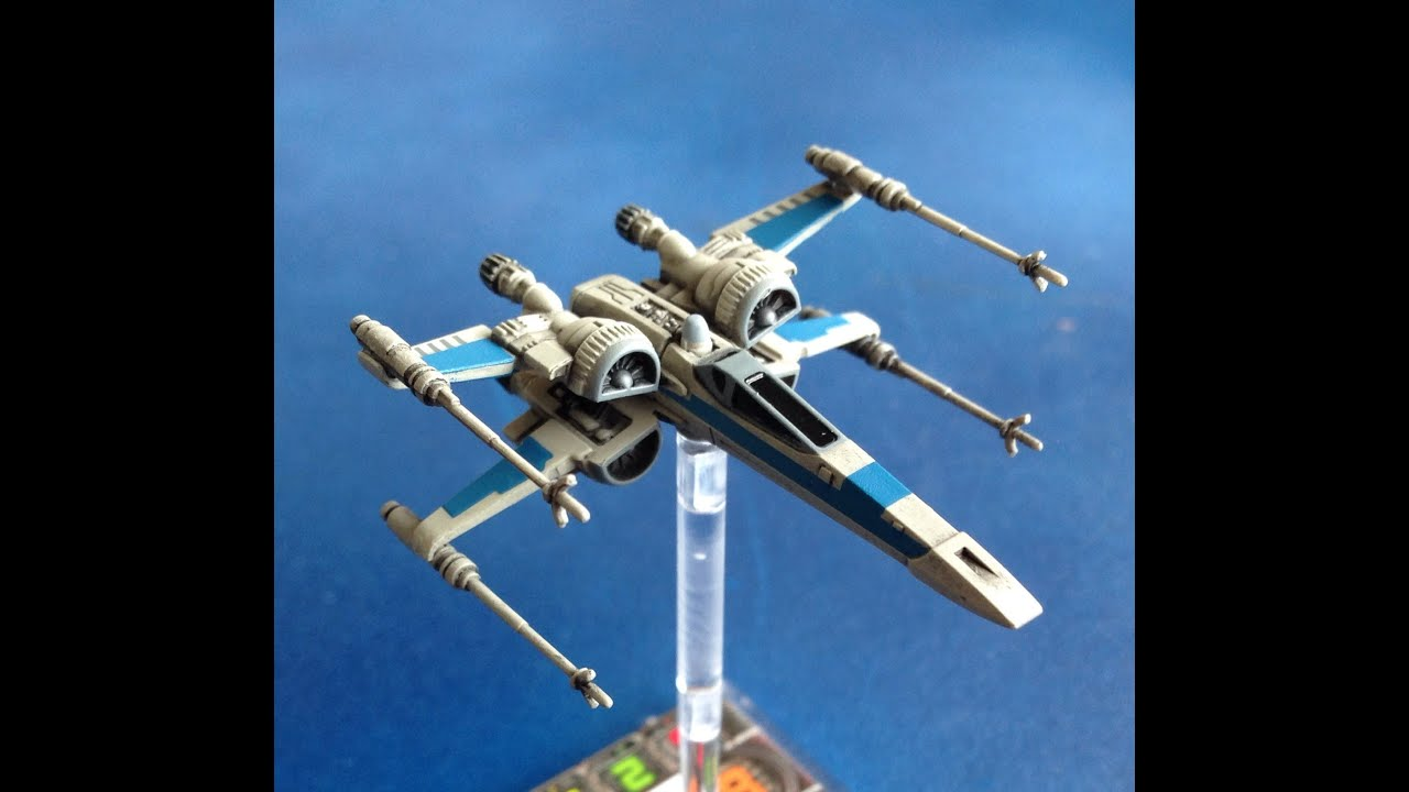 The cardboard dungeon x wing ship review t 70 x wing for Miroir 70 x 70