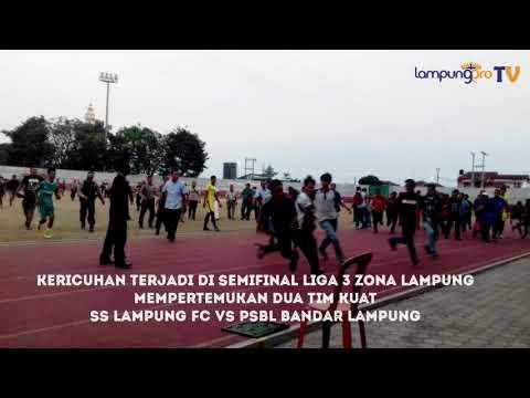 VIDEO: Duh, Suporter dan Official Tim Baku Hantam di Semifinal Liga 3 Zona Lampung