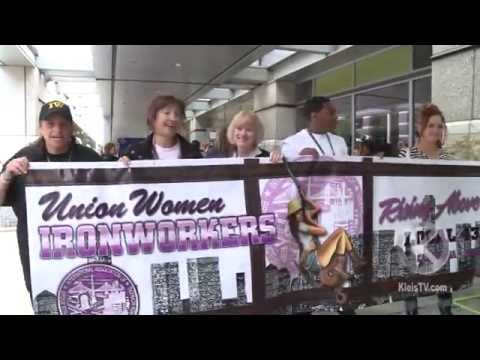 Banner March: Women Build California & The Nation 2014