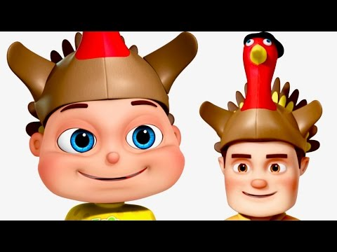 Five Little Babies Celebrating Thanksgiving | Thanksgiving Songs | Zool Babies Fun Songs
