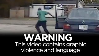 WARNING: Graphic violence. Real-time events of Walter Scott shooting thumbnail