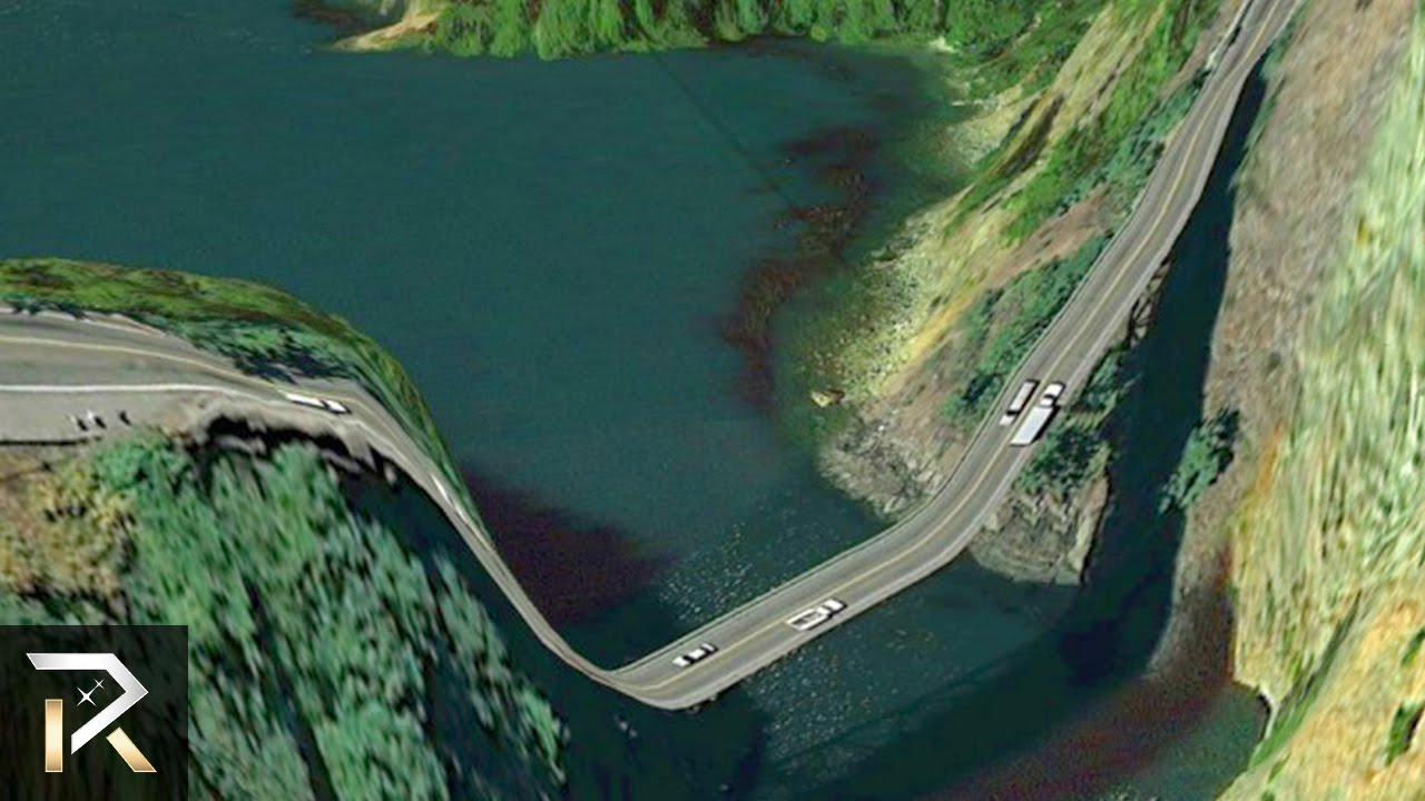 Roads You Would Never Want To Drive On YouTube - The 10 scariest roads in the world