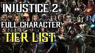 Injustice 2 - Full Character Tier List