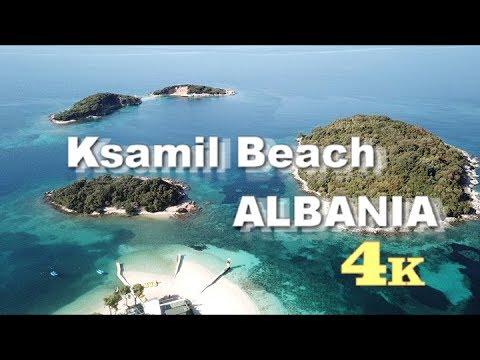 Albania -  Ksamil Beach - Dji Mavic pro 4K