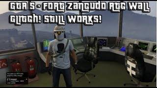 GTA 5 - Fort Zancudo ATC Tower Glitch! Still Works! Get Inside!