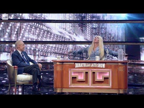 """Renato Balestra al """"Donatella Versace Late Show"""" - Facciamo che io ero 07/06/2017"""