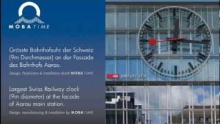 Swiss Railway Clock Aarau