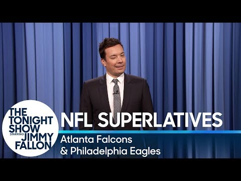 Download Youtube: Tonight Show Superlatives: 2017 NFL Season - Falcons and Eagles