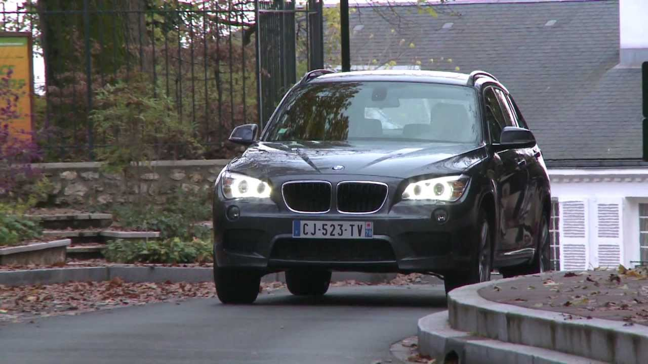 essai bmw x1 25d m sport 2012 youtube. Black Bedroom Furniture Sets. Home Design Ideas
