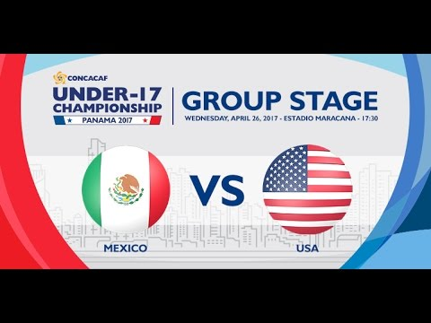 CU17PAN: Mexico vs United States
