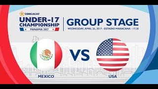 cu17pan mexico vs united states