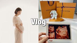 [브이로그] 임신 29~31주차 | 입체초음파 | 결혼…