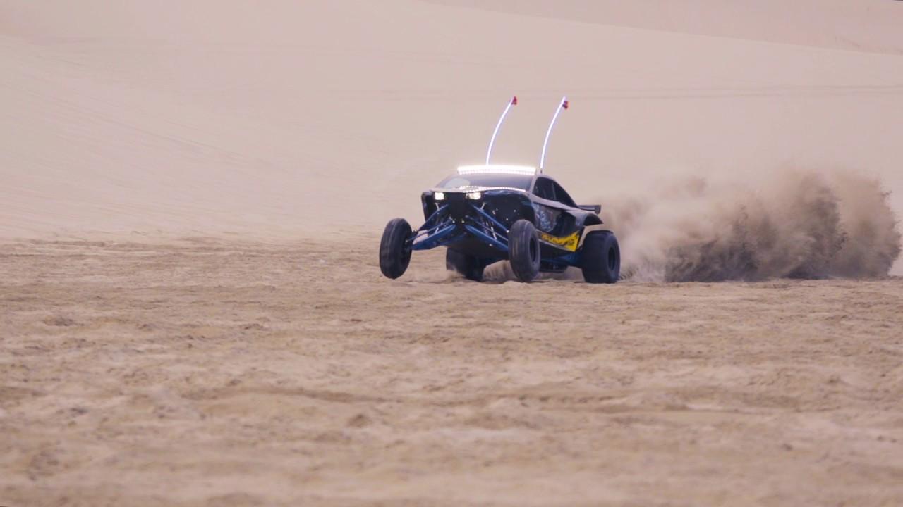 KC HiLiTES FLEX LED Buckshot X2RL Sandcar