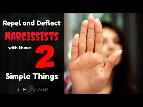 Repel and Deflect Narcissists With These 2 Simple Things