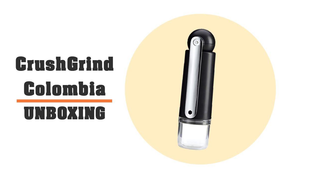 CrushGrind/® 080201-009 COLUMBIA caff/è nero Legno